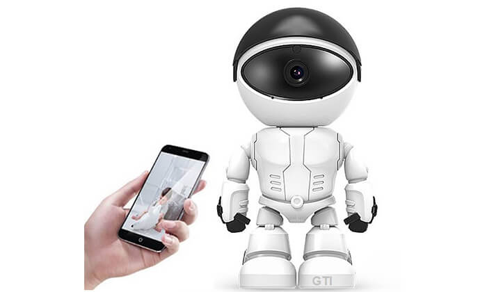 2 מצלמת IP נסתרת ברובוט