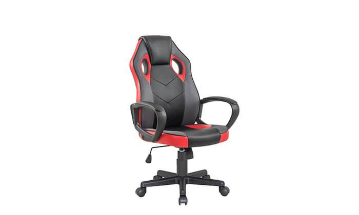 6 כיסא גיימינג ארגונומי Homax