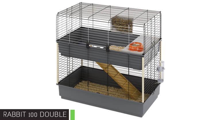 5 כלוב ארנבות פרפלסט Ferplast