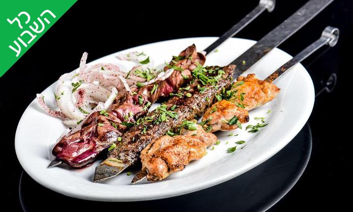 2 ארוחה זוגית בסטלה ביץ' - דג על הים, בת ים
