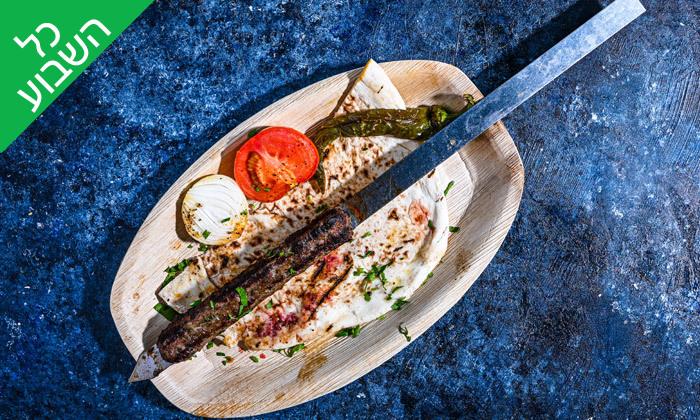 4 ארוחת שיפודים זוגית בסטלה ביץ' - דג על הים, בת ים