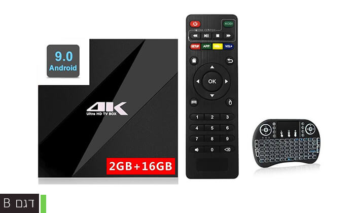 4 סטרימר ANDROID X9 TV BOX 4K ULTRA