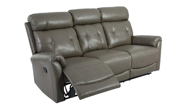 7 שמרת הזורע: סט סלון עם ספה תלת-מושבית, ספה דו מושבית וכורסה