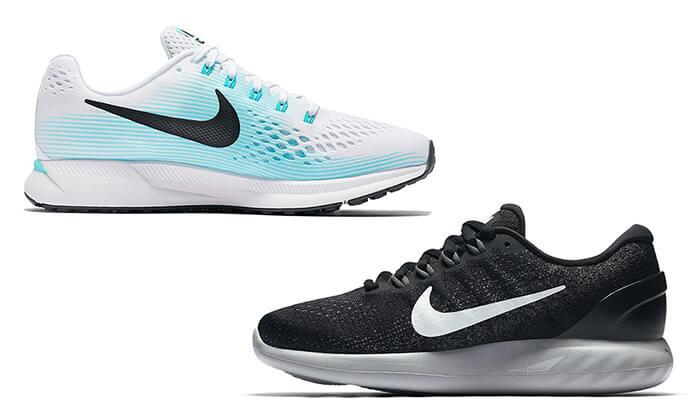 2 נעלי ריצה לנשים ולגברים NIKE