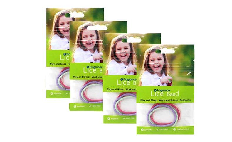 3+1 חבילות גומיות למניעת כינים