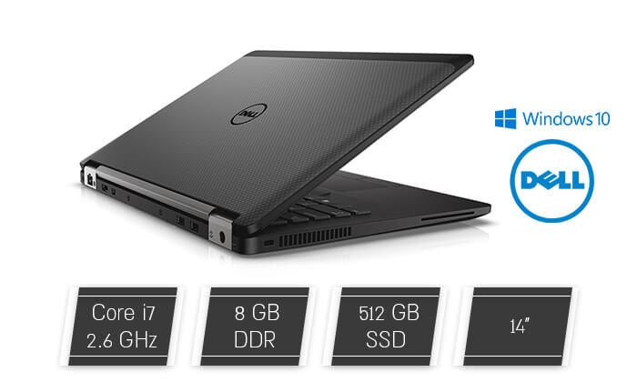 2 מחשב נייד דל DELL עם מסך 14 אינץ'