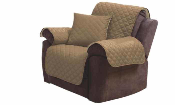 4 כיסוי דו-צדדי לספה