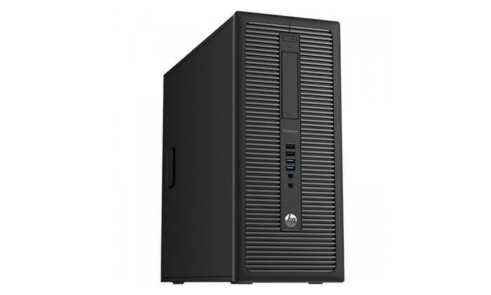 4 מחשב נייח HP עם כרטיס מסך GeForce GTX 1050