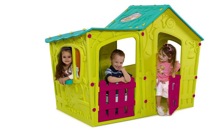 6 כתר: בית משחק לילדים בעיצוב טירה