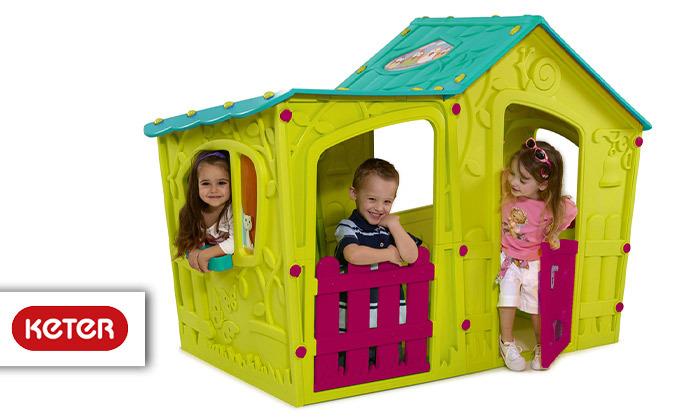 כתר: בית משחק לילדים בעיצוב טירה