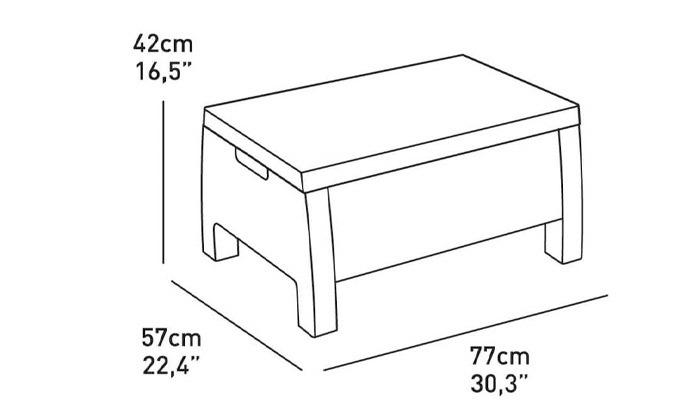 6 כתר: מערכת ישיבה בעיצוב דמוי ראטן