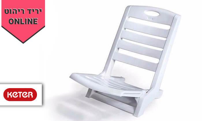 2 כתר: 6 כיסאות פלסטיק לים דגם סאנטו