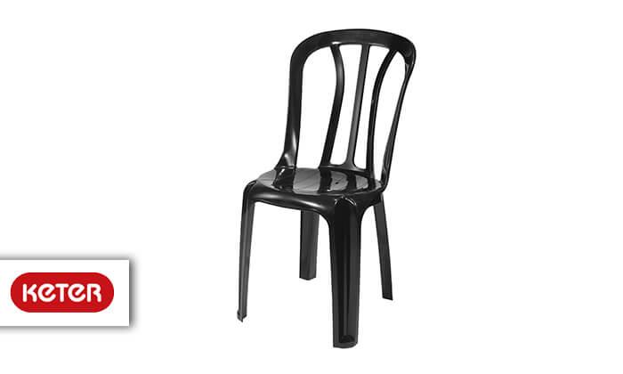 2 כתר: שישיית כסאות פלסטיק
