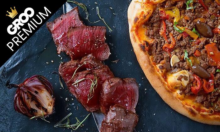 9 מסעדת לחם בשר הכשרה למהדרין במרינה הרצליה - ארוחת פרימיום זוגית