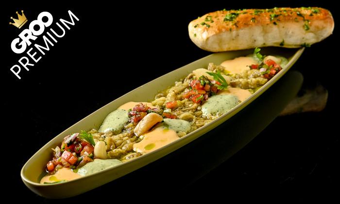 4 מסעדת לחם בשר הכשרה למהדרין במרינה הרצליה - ארוחת פרימיום זוגית