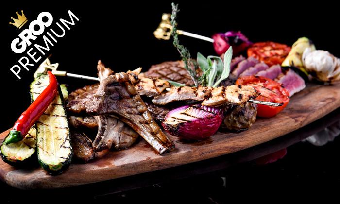 8 מסעדת לחם בשר הכשרה למהדרין במרינה הרצליה - ארוחת פרימיום זוגית