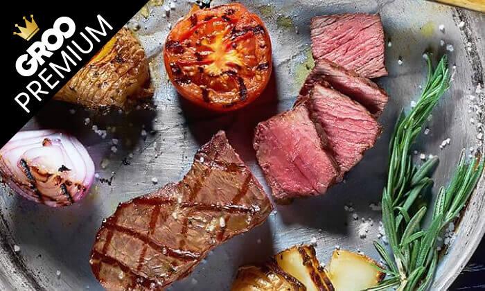 11 מסעדת לחם בשר הכשרה למהדרין במרינה הרצליה - ארוחת פרימיום זוגית