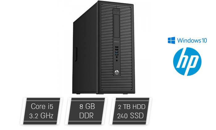 2 מחשב גייימינג נייח HP עם כרטיס מסך GeForce