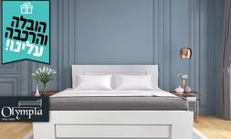 מיטה במבחר גדלים עם מזרן מתנה