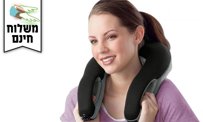 3 מכשיר עיסוי לצוואר ולכתפיים Homedics