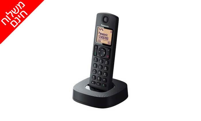 2 טלפון אלחוטי Panasonic - משלוח חינם!