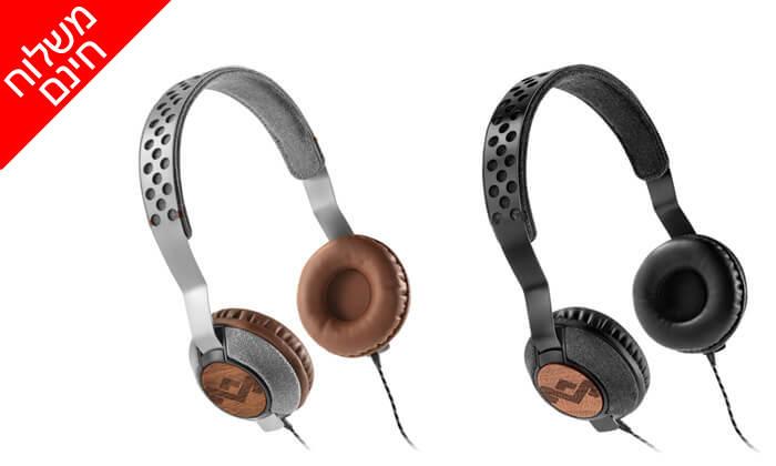 5 אוזניות חוטיות מארלי MARLEY - משלוח חינם!