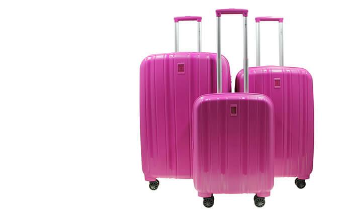 4 סט 3 מזוודות קשיחות SWISS