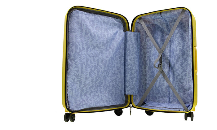 6 סט 3 מזוודות קשיחות SWISS