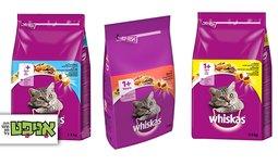 """שק מזון 1.4 ק""""ג לחתול Whiskas"""
