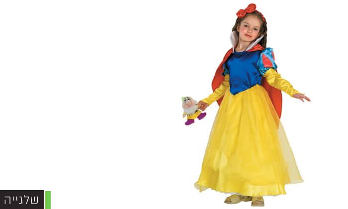 3 תחפושות נסיכות ודמויות מהאגדות לילדים לפורים