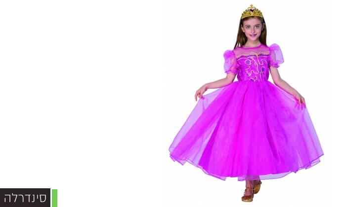 6 תחפושות נסיכות ודמויות מהאגדות לילדים לפורים
