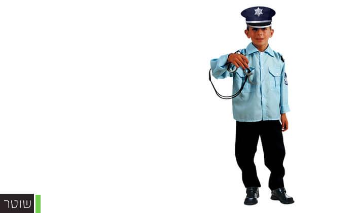 3 תחפושות שוטרים לילדים לפורים