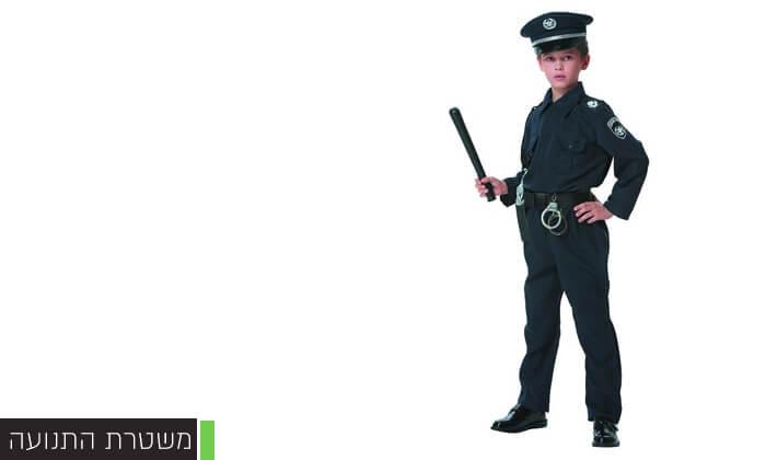 6 תחפושות שוטרים לילדים לפורים