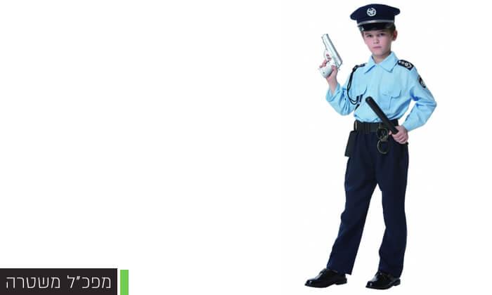 7 תחפושות שוטרים לילדים לפורים