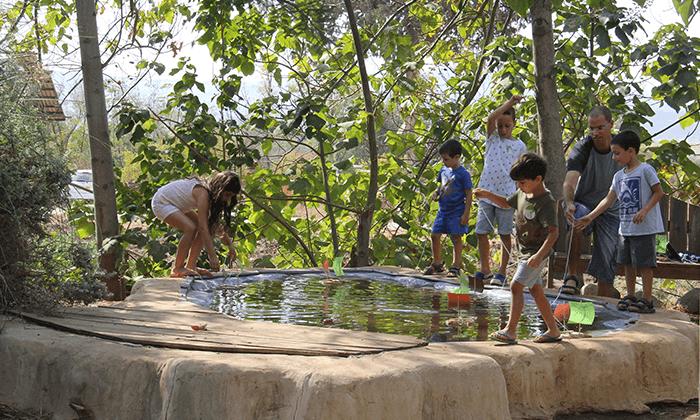 4 כניסה לפארק הילדים 'דרך העץ', שדמות דבורה