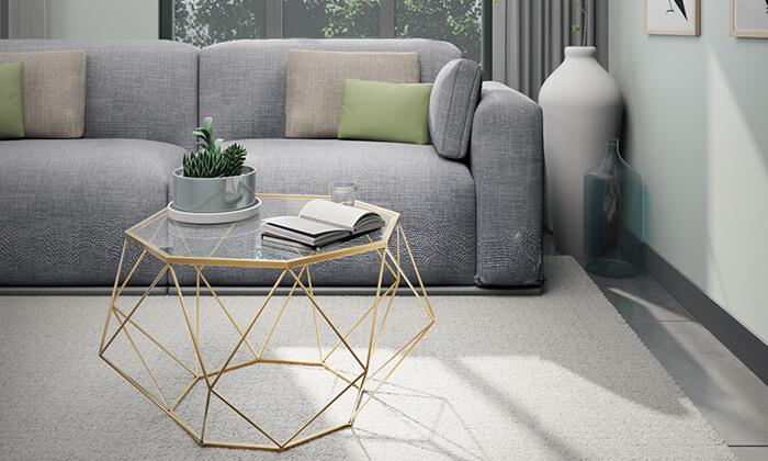 5 שולחן סלון דגם יהלום 9