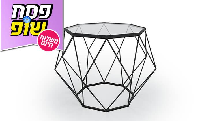 3 שולחן סלון דגם יהלום 9 - הובלה חינם!