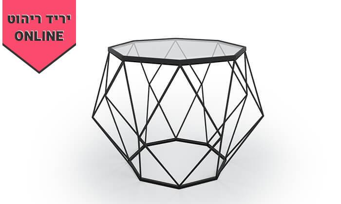 3 שולחן סלון דגם יהלום