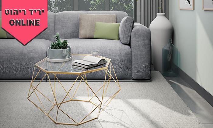 5 שולחן סלון דגם יהלום