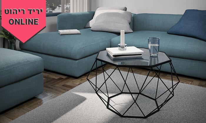 2 שולחן סלון דגם יהלום