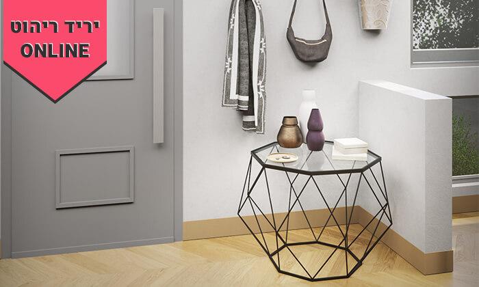 4 שולחן סלון דגם יהלום