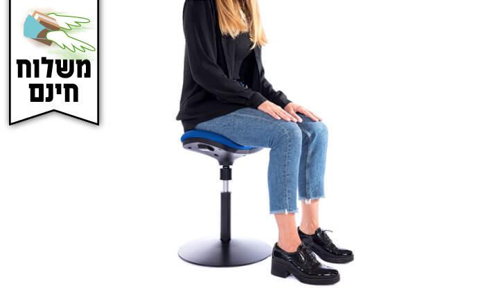 """3 ד""""ר גב: כסא ארגונומי DYNAMIC- משלוח חינם!"""