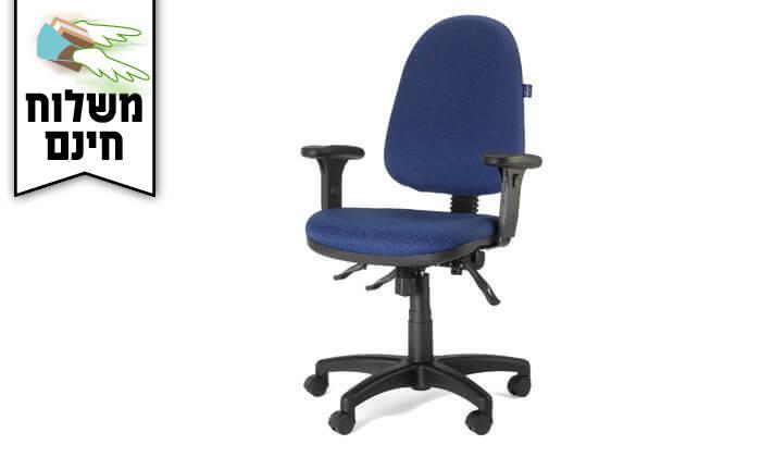 """4 ד""""ר גב: כסא משרד AMBASSADOR- משלוח חינם!"""