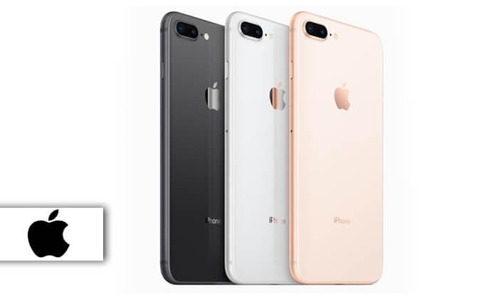 2 אייפון 8 פלוס 64GB