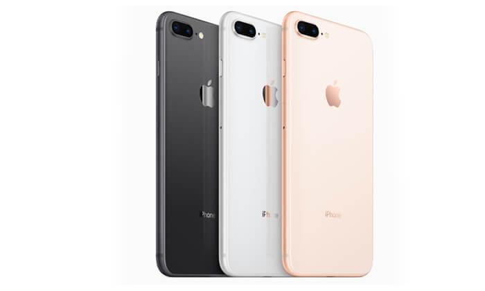 3 אייפון 8 פלוס 256GB
