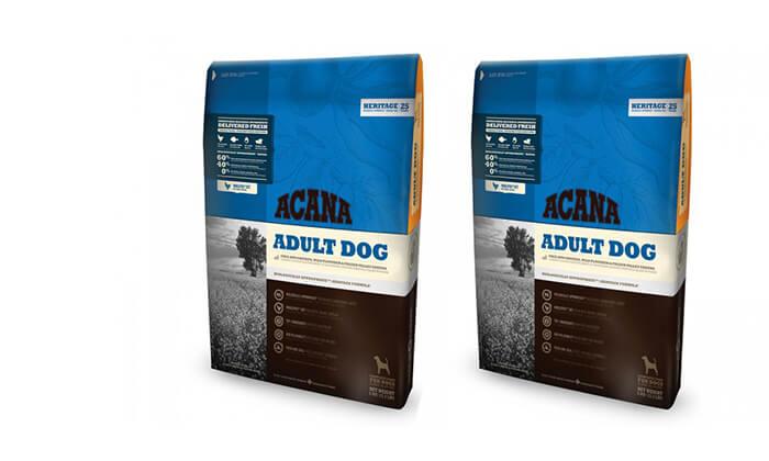 3 שק מזון לכלב בוגר ACANA - משלוח חינם!