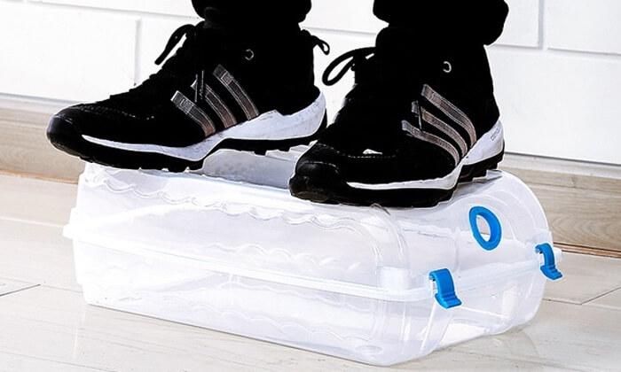 4 סט 4 קופסאות נעליים