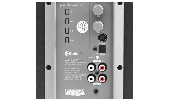 5 מערכת רמקולים לגיימינג Pure Acoustics עם חיבור Bluetooth - משלוח חינם!