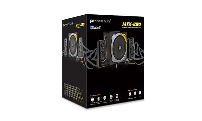7 מערכת רמקולים לגיימינג Pure Acoustics עם חיבור Bluetooth - משלוח חינם!