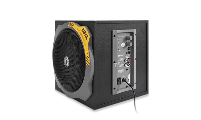 4 מערכת רמקולים לגיימינג Pure Acoustics עם חיבור Bluetooth - משלוח חינם!